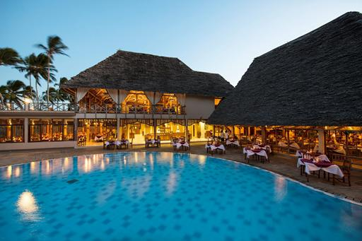 Neptune Pwani Beach Resort & Spa in Zanzibar